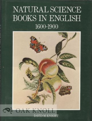 NATURAL SCIENCE BOOKS IN ENGLISH, 1600-1900.