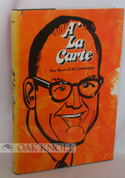 A' LA CARTE, THE BEST OF AL CARTWRIGHT. Al Cartwright