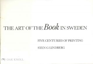 THE ART OF THE BOOK IN SWEDEN