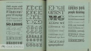 OLDE TYPE FACES AT TRI-ARTS PRESS ... FROM THE FREDERIC NELSON PHILLIP S COLLECTION OF ANTIQUE, EXOTIC, ANCIENT TYPE FACES.