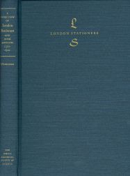 A DIRECTORY OF LONDON STATIONERS AND BOOK ARTISANS 1300-1500