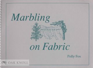 MARBLING ON FABRIC. Polly Fox