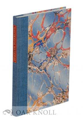 VARIETIES OF SPANISH MARBLING, A HANDBOOK OF PRACTICAL INSTRUCTION WITH TWELVE ORIGINAL MARBLED...