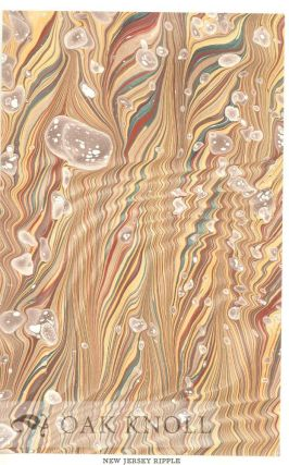 VARIETIES OF SPANISH MARBLING, A HANDBOOK OF PRACTICAL INSTRUCTION WITH TWELVE ORIGINAL MARBLED SAMPLES.