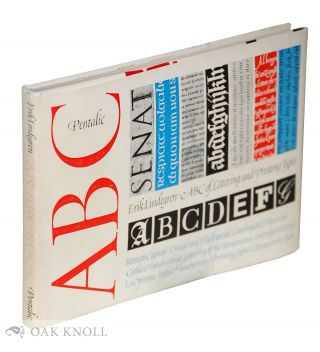 ABC OF LETTERING AND PRINTING TYPES. Erik Lindegren