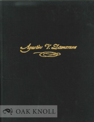 A COPYBOOK FROM THE HAND OF AGUSTIN V. ZAMORANO