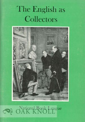 THE ENGLISH AS COLLECTORS. Frank Herrmann