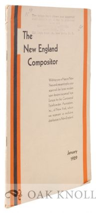 NEW-ENGLAND COMPOSITOR (THE