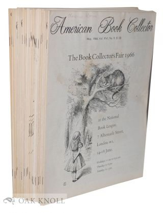 AMERICAN BOOK COLLECTOR (THE
