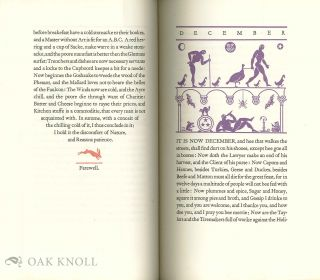 THE TWELVE MONETHS AND CHRISTMAS DAY FROM `FANTASTICKES'.