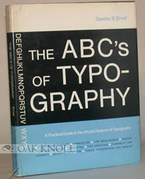 ABC'S OF TYPOGRAPHY. Sandra B. Ernst.