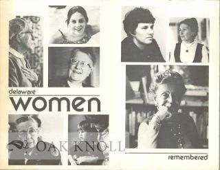 DELAWARE WOMEN REMEMBERED