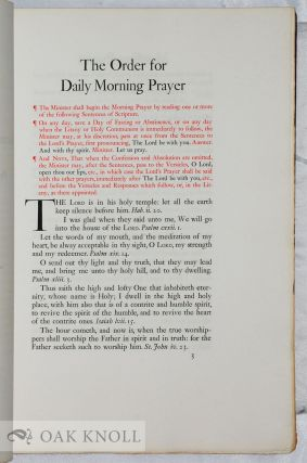 THE BOOK OF COMMON PRAYER AND ADMINISTRATION OF THE SACRAMENTS AND OTHER RITES AND CEREMONIES OF THE CHURCH ACCORDING TO THE USE OF THE PROTESTANT EPISCOPAL CHURCH OF THE UNITED STATES OF AMERICA. TOGETHER WITH THE PSALTER OR PSALMS OF DAVID.