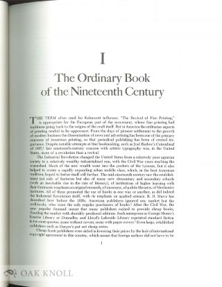 AMERICAN BOOK DESIGN AND WILLIAM MORRIS With a new Foreword by Jean-Francois Vilain.