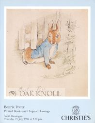 BEATRIX POTTER: PRINTED BOOKS AND ORIGINAL DRAWINGS.