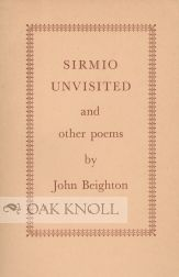 SIRMIO UNVISITED AND OTHER POEMS