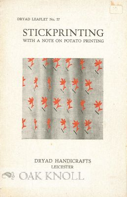 STICKPRINTING, WITH A NOTE ON POTATO PRINTING
