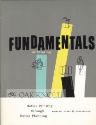 FUNDAMENTALS OF PRINTING FOR PLANNERS, BUYERS, USERS.