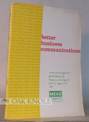 BETTER BUSINESS COMMUNICATIONS. Mead