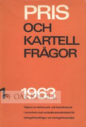 PRIS OCH KARTELLFRAGOR... [PRICE AND CARTEL QUESTIONS].