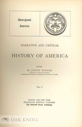 NARRATIVE AND CRITICAL HISTORY OF AMERICA.