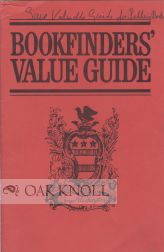 BOOKFINDERS' VALUE GUIDE. Thomas Page Sullivan