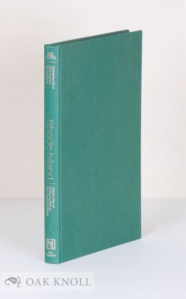 RHODE ISLAND, A BIBLIOGRAPHY OF ITS HISTORY. Roger Parks
