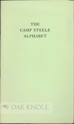 THE CAMP STEELE ALPHABET. Bruce Rogers
