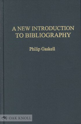 Book excerpt a new introduction to bibliography philip gaskell book excerpt a new introduction to bibliography philip gaskell ccuart Images