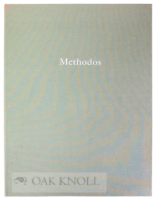 METHODOS. Kenneth White