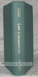 LAW & INTERNATIONAL LAW, A BIBLIOGRAPHY OF BIBLIOGRAPHIES. Theodore Besterman