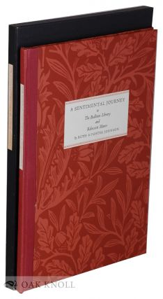 A SENTIMENTAL JOURNEY TO THE BODLEIAN LIBRARY & KELMSCOTT MANOR. Ruth Johnson, Foster