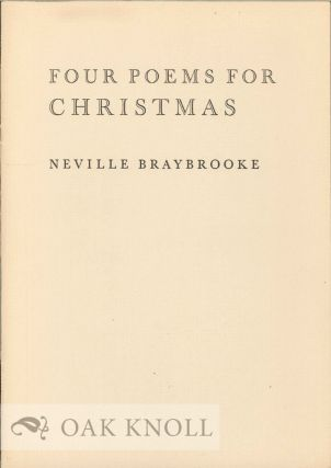 FOUR POEMS FOR CHRISTMAS
