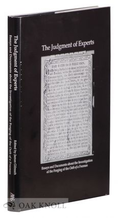 JUDGMENT OF EXPERTS, ESSAYS AND DOCUMENTS ABOUT THE INVESTIGATION OF THE FORGING OF THE OATH OF A...