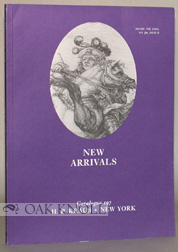 NEW ARRIVALS IN A WIDE VARIETIES OF FIELDS INCLUDING ARCHAEOLOGY, BIBLIOGRAPHY, CLASSICS. 197