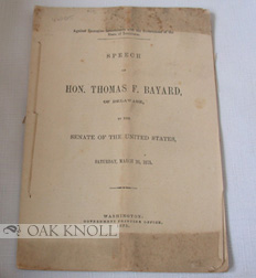AGAINST EXECUTIVE INTERFERENCE WITH THE GOVERNMENT OF THE STATE OF LOU ISIANA. Thomas F. Bayard