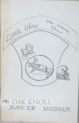 LITTLE URHO, THE UNSUNG FINN. David Hudson