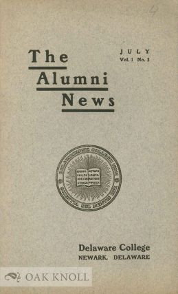 ALUMNI NEWS. VOL. I, NO.3, JULY, 1915
