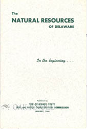 THE NATURAL RESOURCES OF DELAWARE