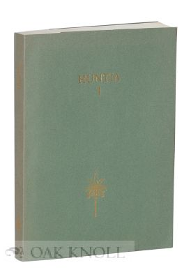 HUNTIA, A YEARBOOK OF BOTANICAL AND HORTICULTURAL BIBLIOGRAPHY, VOLUME I, 15 APRIL 1964.