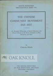 THE CHINESE COMMUNIST MOVEMENT, 1921-1937