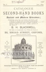 CATALOGUE OF SECOND-HAND BOOKS IN ANCIENT AND MODERN LITERATURE...