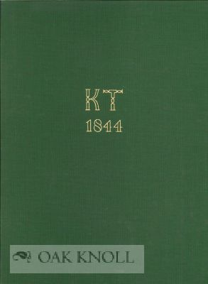 TROMONIN'S WATERMARK ALBUM, A FACSIMILE OF THE MOSCOW 1844 EDITION