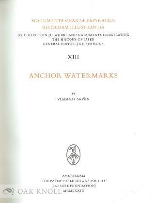 ANCHOR WATERMARKS