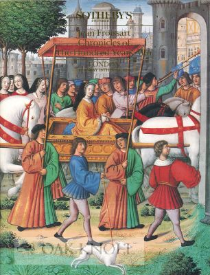 JEAN FROISSART CHRONICLES OF THE HUNDRED YEARS' WAR.