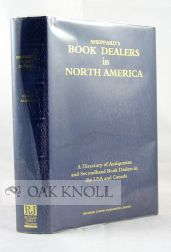 SHEPPARD'S BOOK DEALERS IN NORTH AMERICA