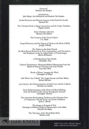THE BIBLE AS BOOK: THE SERIES.