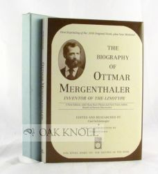 THE BIOGRAPHY OF OTTMAR MERGENTHALER, INVENTOR OF THE LINOTYPE