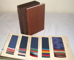 SON OF THE BOOKBINDER, WITH AN APPENDIX SHOWING SAMPLES OF SOME OF THE FINEST BOOKCLOTHS MANUFACTURED TODAY