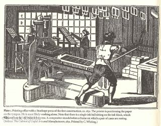 NINETEENTH-CENTURY PRINTING PRACTICES AND THE IRON HANDPRESS